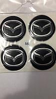 Наклейки силиконовые Mazda