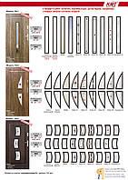 Входные металлические двери с витражами (Польша)