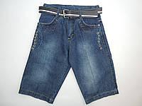 Бриджи джинсовые для мальчика  7-14 лет