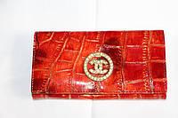 Кожаный  женский кошелек CHANEL