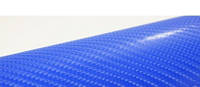 Пленка под карбон 4D синяя (SOULIDE)