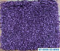 Ворсистый ковер Муни shaggy, однотонный, цвет фиолетовый