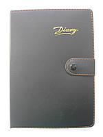 """Блокнот на кнопке """"Diary"""" в клетку"""