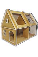 Деревянный домик для кукол арт. 571