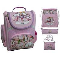 Ранец с сумкой пеналом и кошельком в наборе 4 в 1 Derby