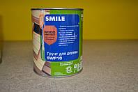 Антисептирующий алкидный грунт для дерева Wood Protect SWP10 Smile 0,75 л