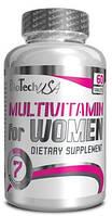 Витамины MULTIVITAMIN FOR WOMEN BIOTECH USA 60 ТАБЛЕТОК