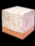 Упаковка подарочная для чашки с принтом (беж)