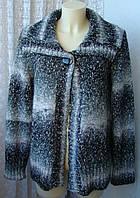 Кофта женская вязаная зимняя теплая элегантная бренд E. р.50 5596