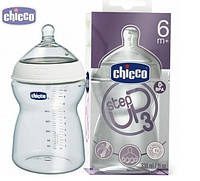 Бутылочка для кормления Chicco Step Up3, 330 мл, 6м+