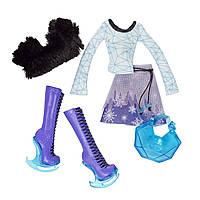 Набор одежды для куклы Монстер Хай Эбби Боминейбл, Monster High Abbey Bombinable Fashion Pack.