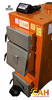 Котел на твердом топливе САН Эко мощность 17 кВт с электронной автоматикой