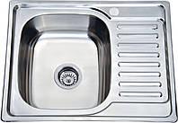 Мойка кухонная Platinum 6350_0,8 mm (полированная)