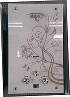 Газовая колонка Matrix JSD 10L LCD (белая с цветами)