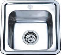 Мойка кухонная Platinum 3838_0,6 mm (декор)