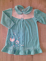 Платье велюровое для девочки ТМ Бемби