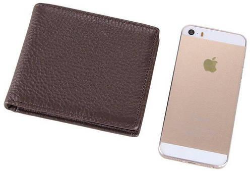 Компактный мужской кожаный кошелек S.J.D. 8062C