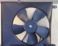 Диффузор радиатора Aveo (с конд.) с мотором, Корея (96536666)