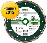 Круг алмазный Distar Turbo Gabbro Aero 230 мм отрезной диск по граниту габбро для УШМ, Дистар, Украина