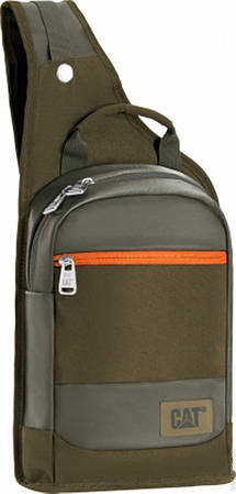 Городской стильный рюкзак с отделение для планшета CAT The Giants  5 л. 83196;164 темно-зеленый