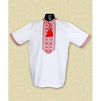 Вышиванка для мальчика с коротким рукавом - Козачок