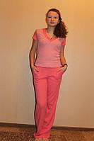 Комплект женский из интерлока футболка+штаны