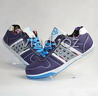 Спортивные туфли кроссовки Badoxx 36р. фиолетовый