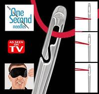 One Second Needle: забудьте о сложностях при вдевании нитки в иголку!