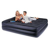 Велюровая надувная кровать, Intex (66720)