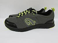 Мужские кроссовки Athletic (10313) черно-серые код 0151А