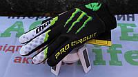 Мото перчатки , вело рукавиці, закрытые Thor MONSTER ENERGY (р-р M-XL)