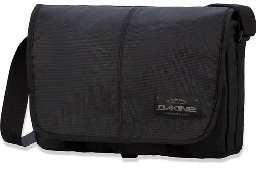 Удобная мужская сумка с отделением для планшета Dakine 8130142 OUTLET 8L 2015 black, 610934863667