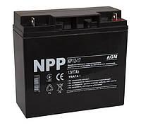 Аккумулятор 12В, 17Ач NPP