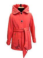 Пальто демисезонное для девочки Paris