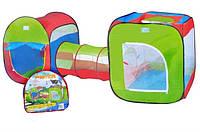 Палатка детская с туннелем, A999-147