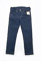Детские джинсы для девочки с золотистыми вставками