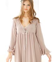 Женский комплект: ночная сорочка и халат