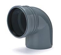 Отвод ПВХ внутренней канализации Armakan 110/90°