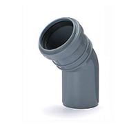 Отвод ПВХ внутренней канализации Armakan 50/45°