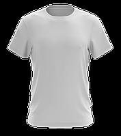 Футболка мужская белая из натурального хлопка