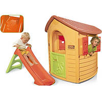 Детский домик с горкой Smoby 310151