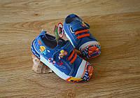 Детская обувь Кеды для мальчиков машинка 21-26р