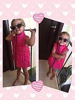 Жилетка детская стильная Shanel жилетка розовый голубой красный бежевый малина белый