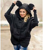 Женская модная куртка с ушками