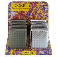 Портсигар с зажигалкой 20723 Zorr для 10 сигарет, 2 цвета