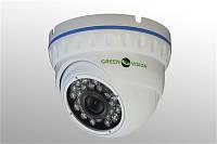 Камера видеонаблюдения купольная IP камера Green Vision GV-001-IP-E-DOS14-20