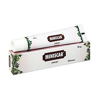Минискар Чарак крем против шрамов и растяжек, Miniscar Cream 30 грамм Charak