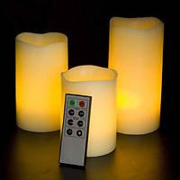 Электронные свечи с дистанционным управлением набор
