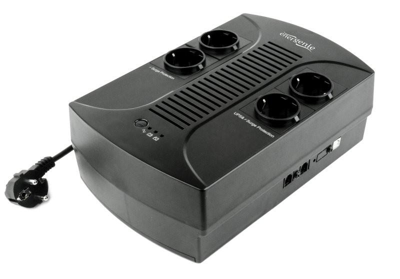 EnerGenie EG-UPS-001 - Источник бесперебойного питания 650VA, серия Desktop [spdk]