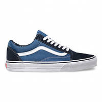 "Кеды Vans Old Skool ""Blue White"" - ""Синие Белые"""